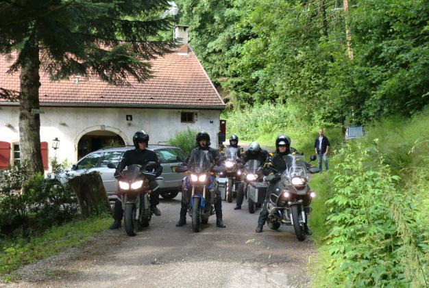 Motorrit door de Vogezen