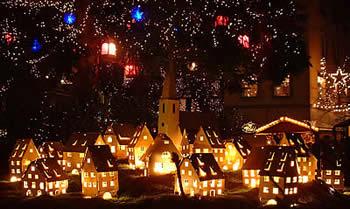 Kerstmarkt in de Elzas