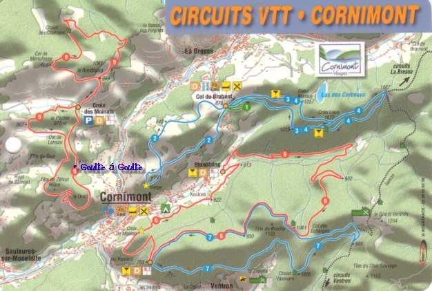 Mountenbiken (VTT) in de Vogezen