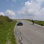 De route des Crêtes. En route welke zeker bezocht gaat worden.