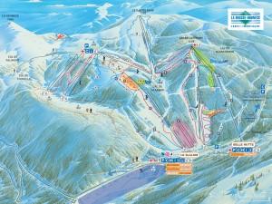 skiën/pistes La Bresse Hohneck